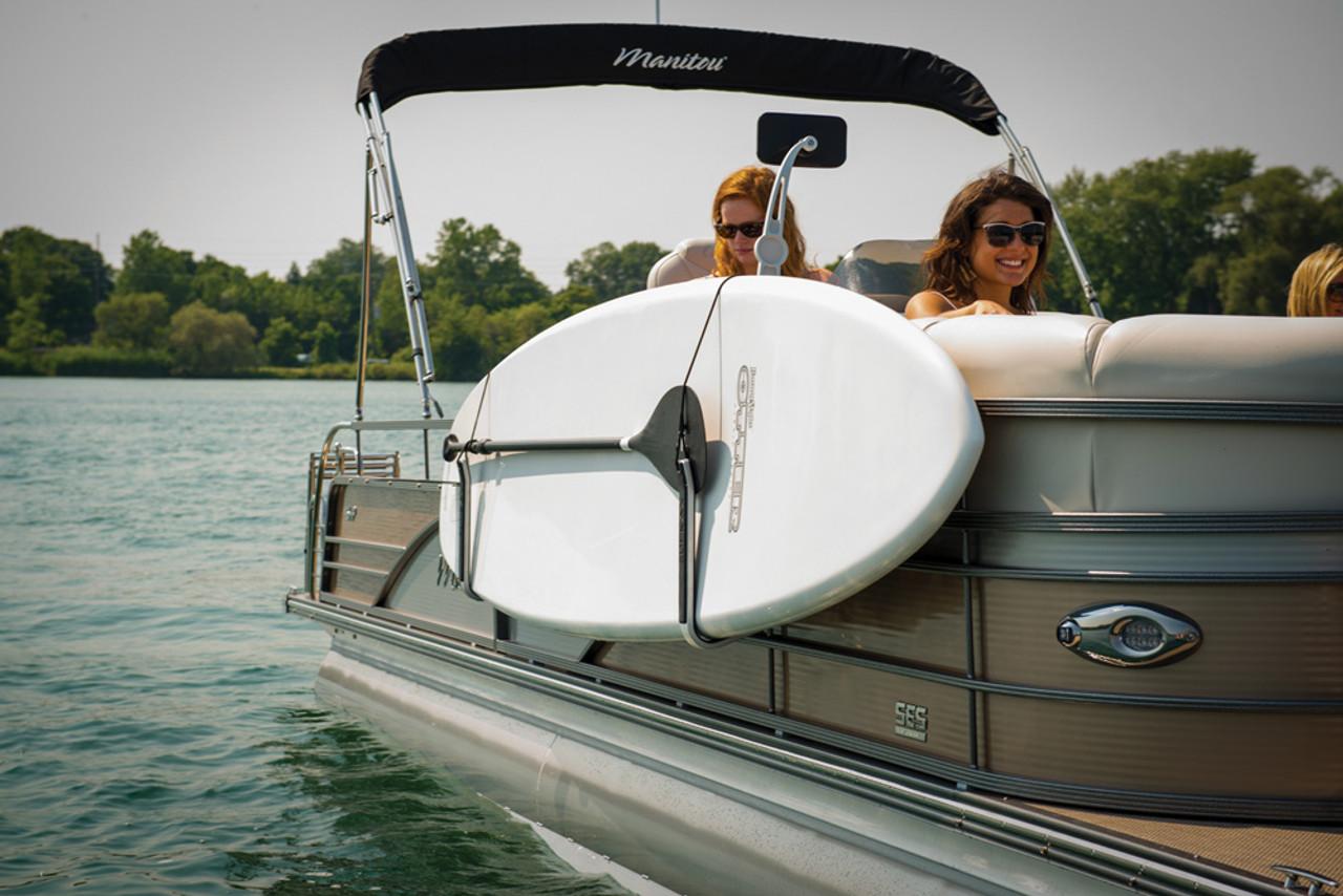 Kayak Wall Hanger >> SUP Rack for Pontoon Boats - StoreYourBoard.com