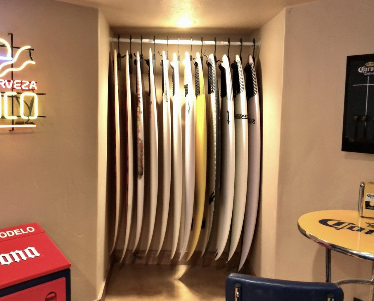 Surfboard Hanger | Retail Shop Storage and Display Rack ...