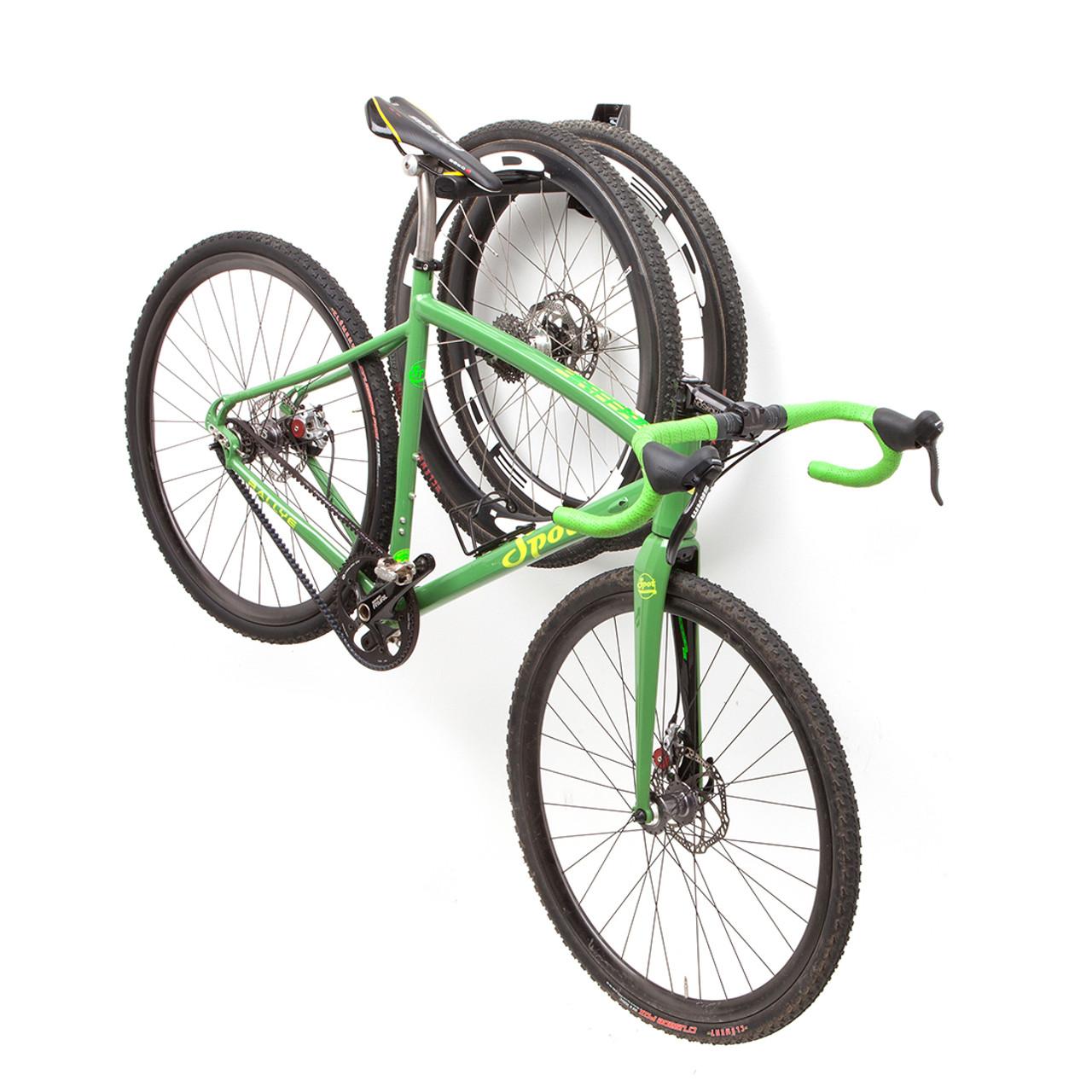 bike and tire wall rack