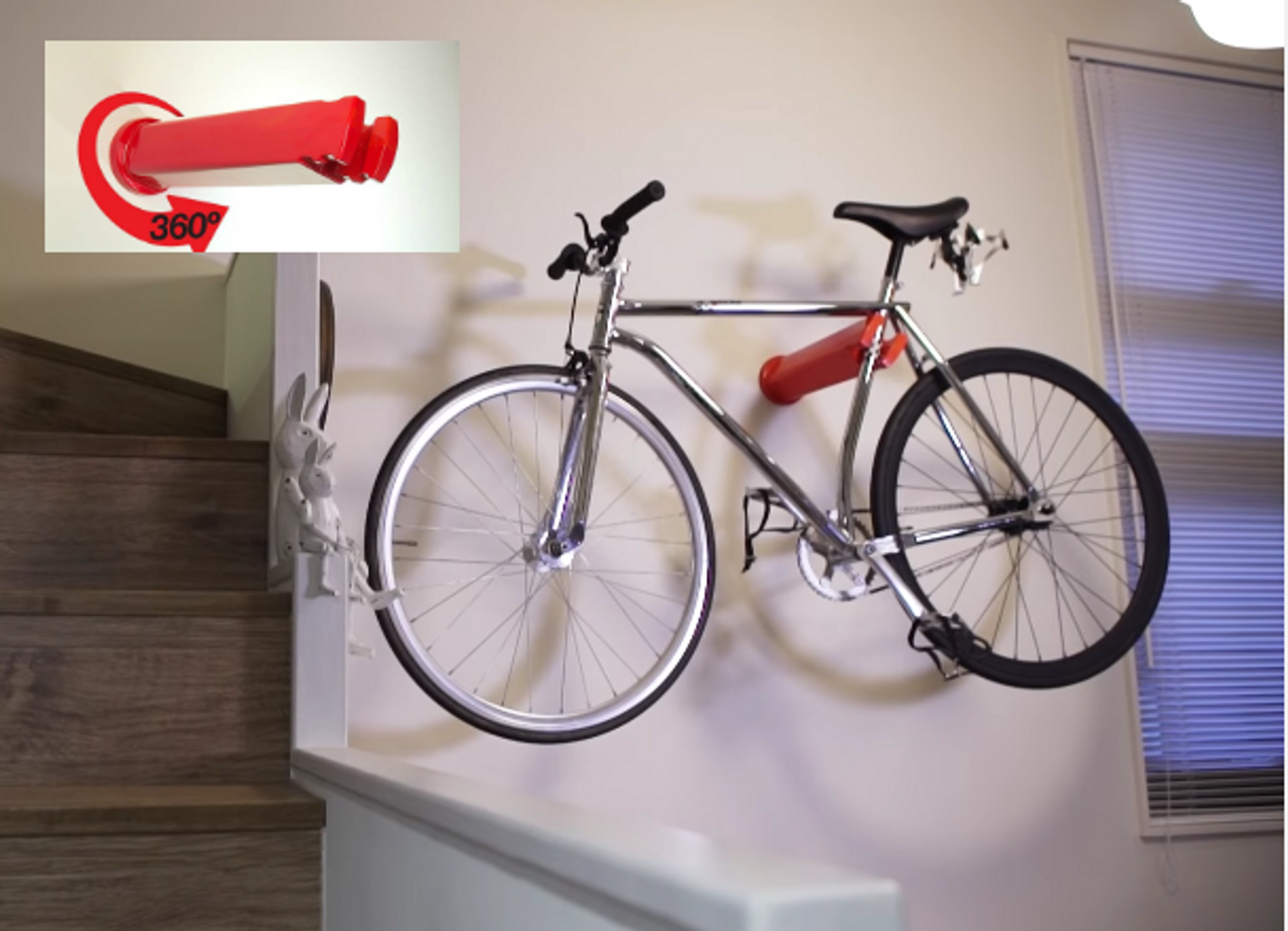 bike apartment storage rack