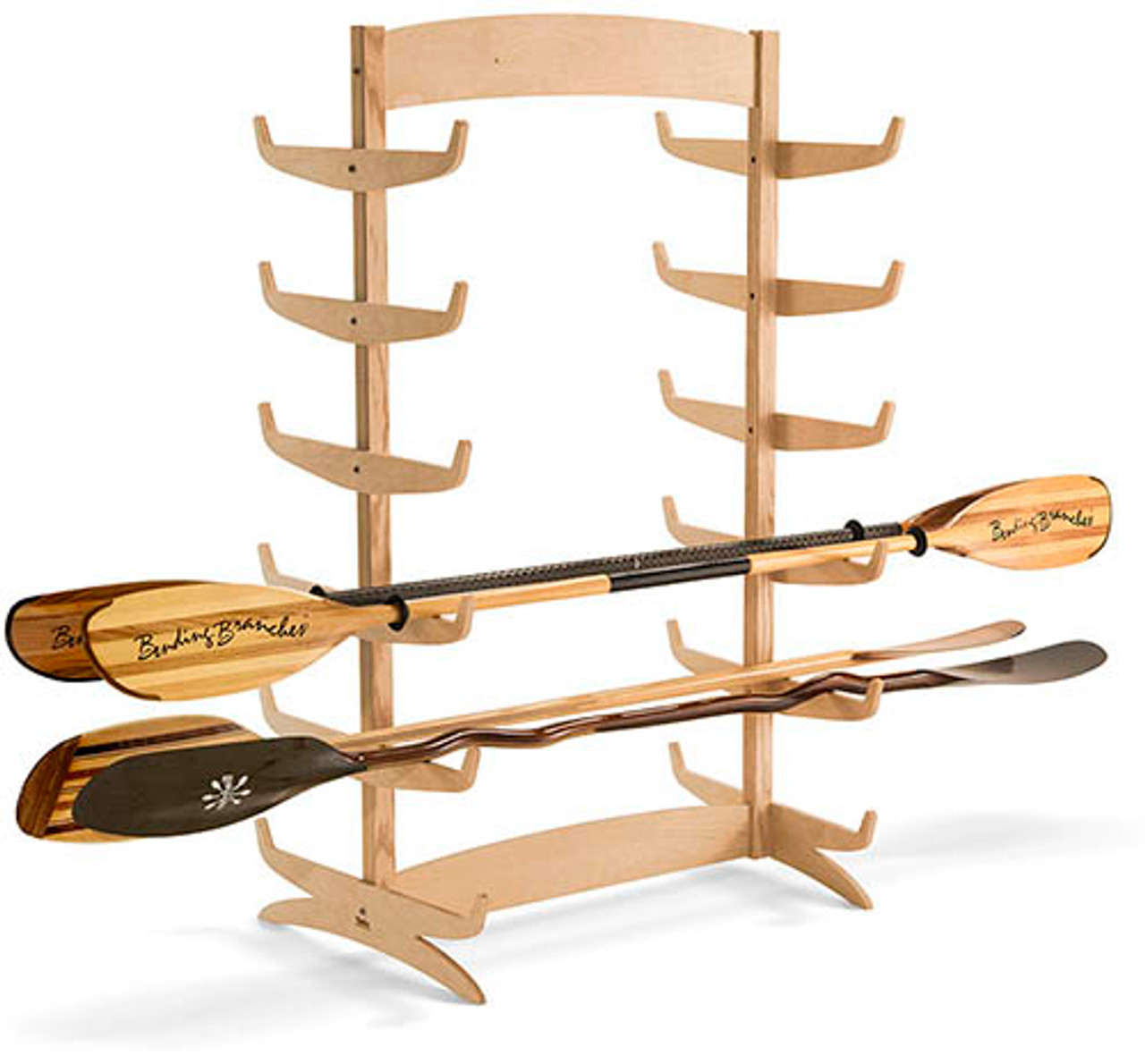 floor paddle rack for retail paddleboard SUP stores