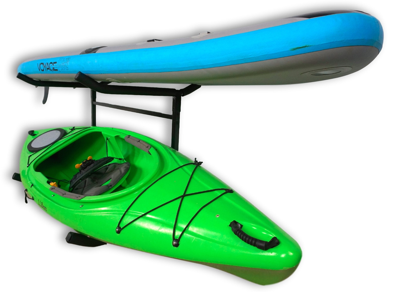 kayak and SUP storage rack