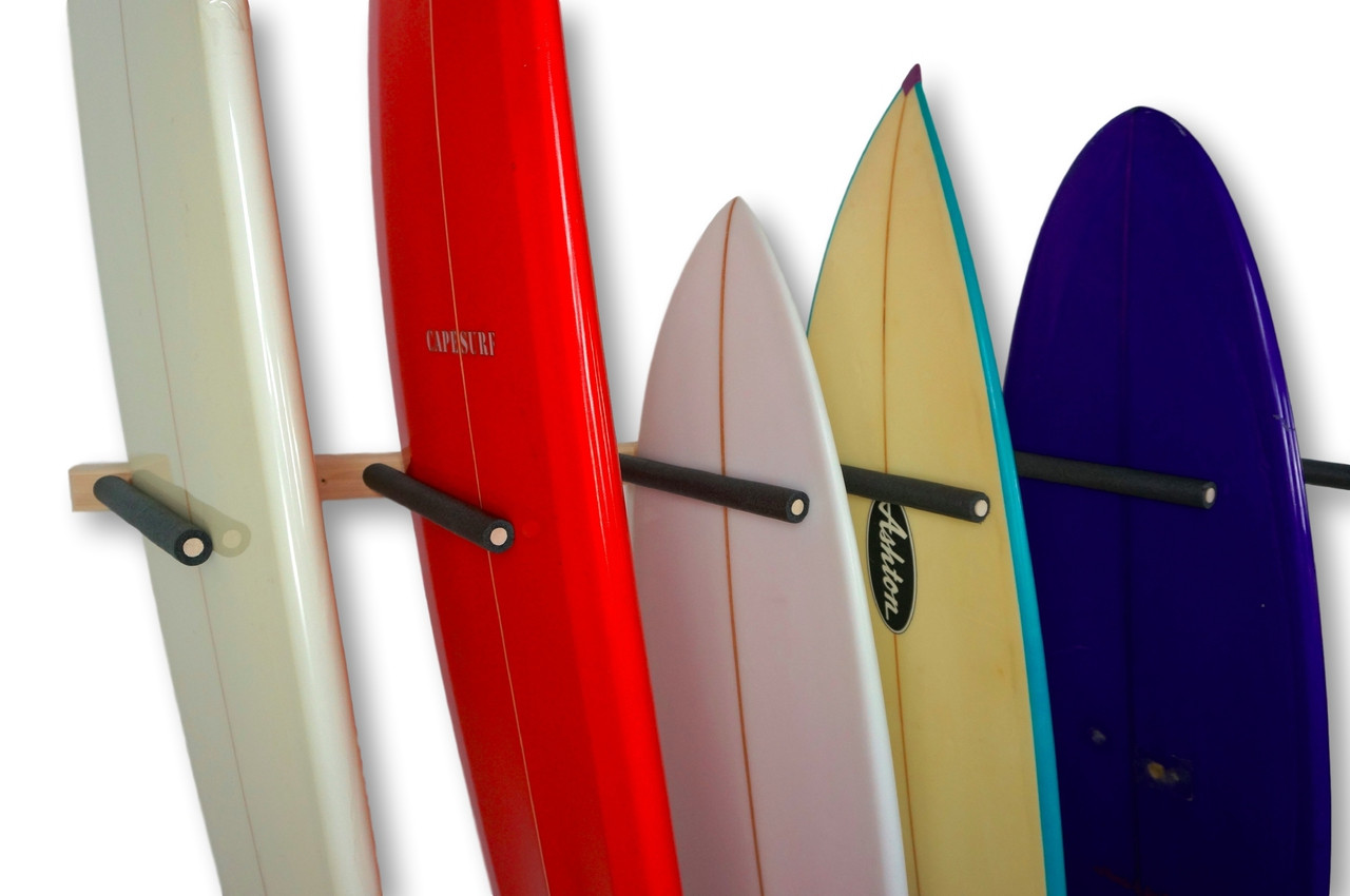 surfboard wall rack