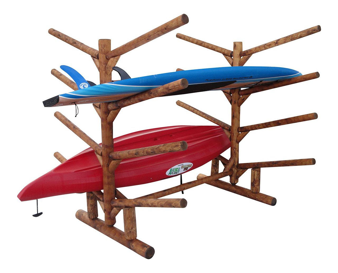 8 kayak log rack
