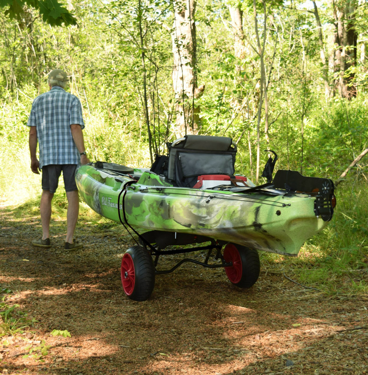 beach kayak cart
