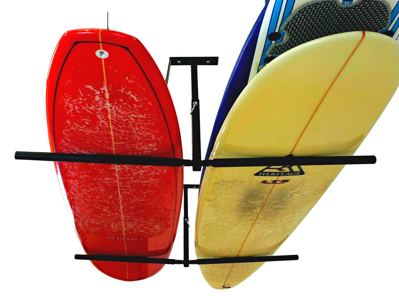 surfboard ceiling rack