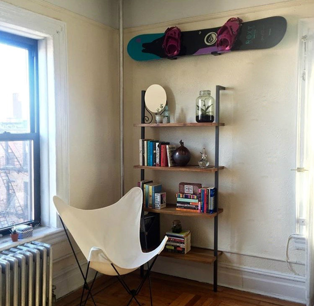 Naked Snow  Minimalist Snowboard Rack - Storeyourboardcom-9120