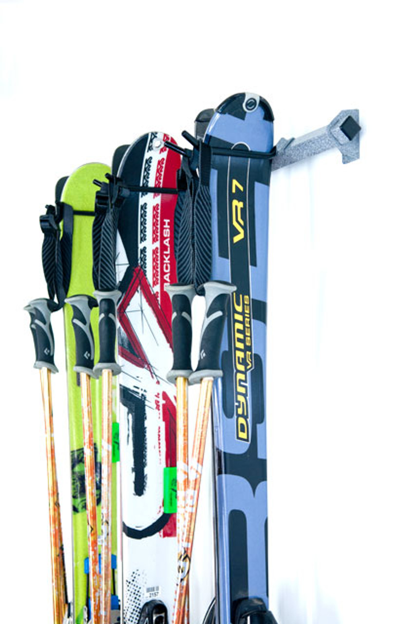 ski wall rack 3 skis