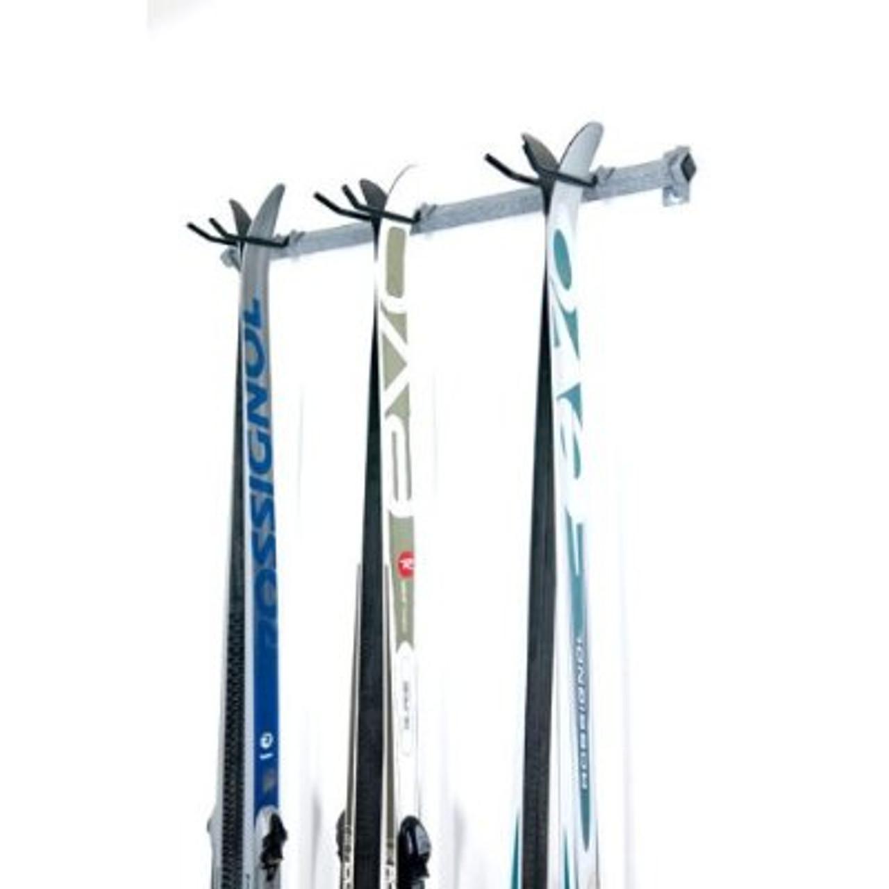 garage cross country ski rack
