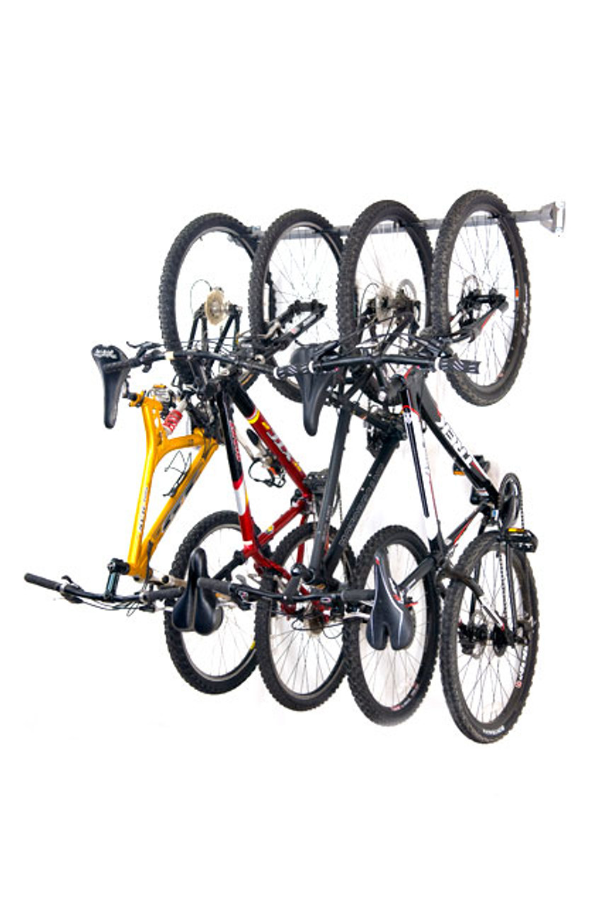 4 bike garage storage rack