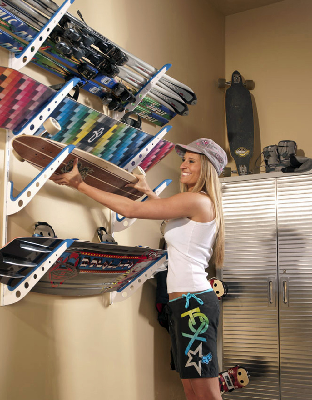 board storage rack