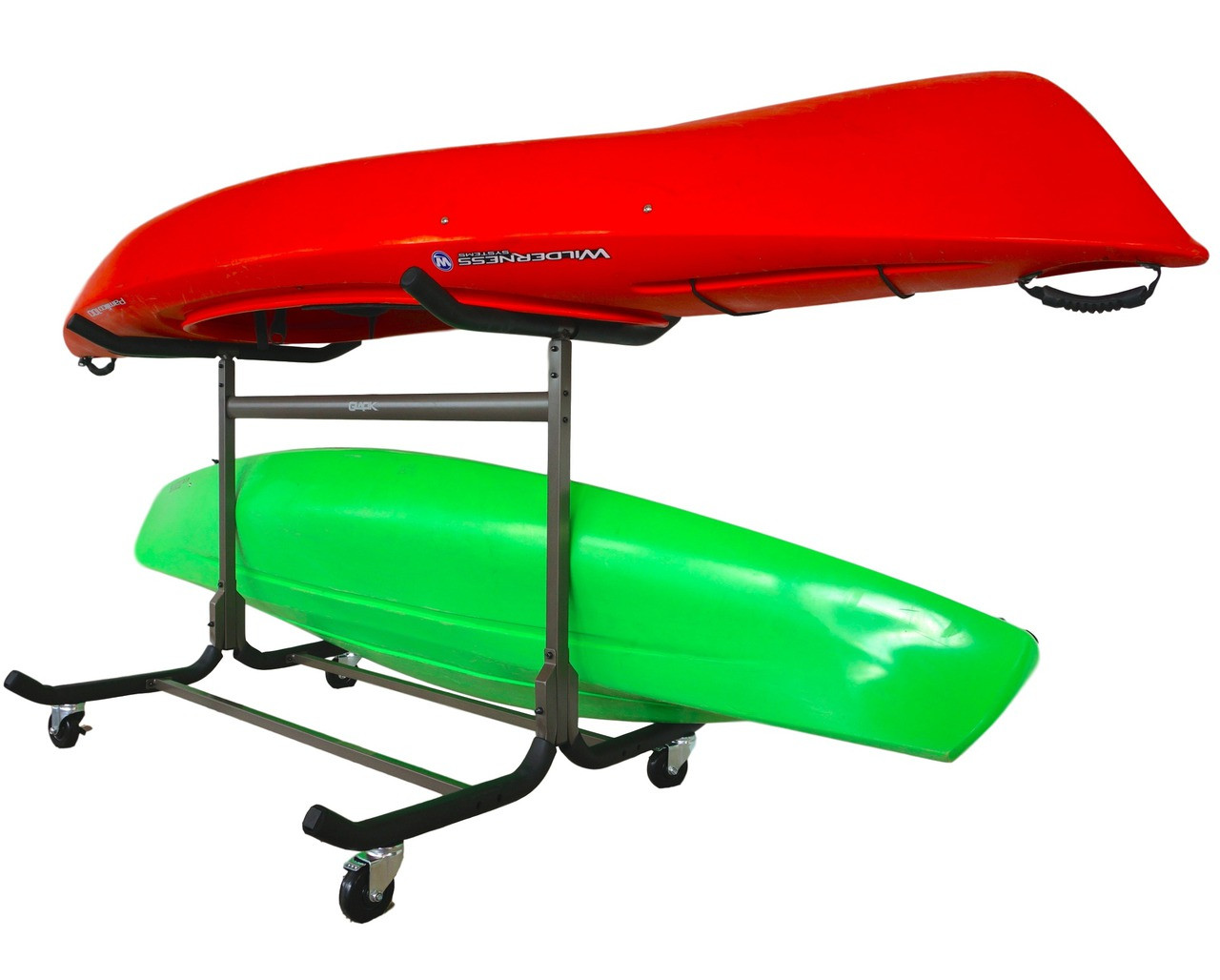 Kayak Floor Rack 3 To 5 Kayak Storage Add Wheels
