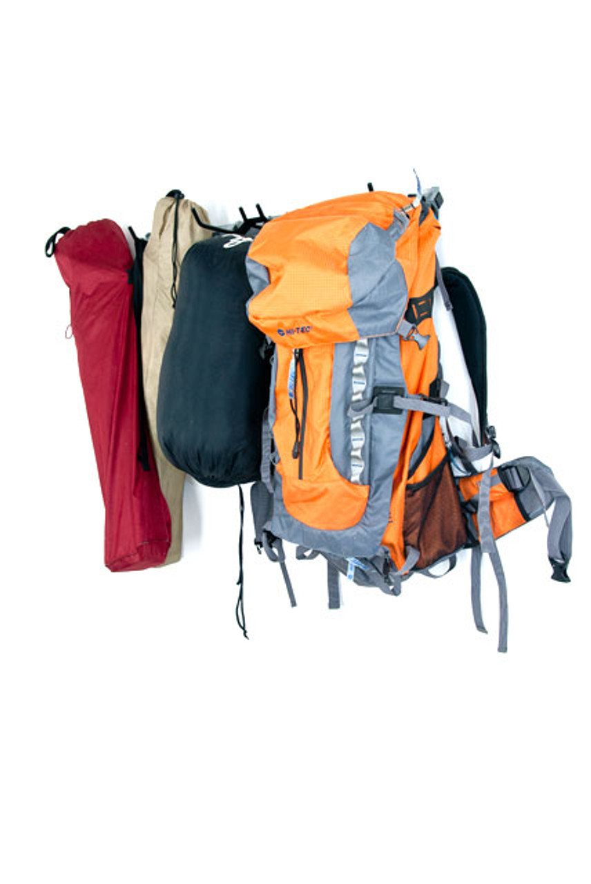 general purpose camping gear rack