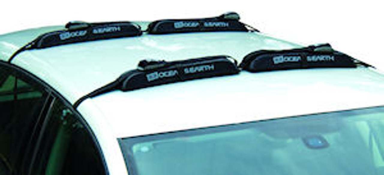 premium double roof rack system for surfboards