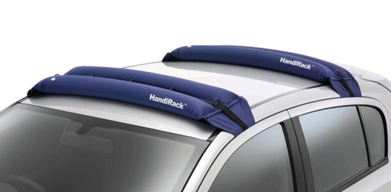 Kayak Roof Rack For Cars >> Inflatable Kayak Roof Rack   Universal Soft Kayak Rack - StoreYourBoard.com