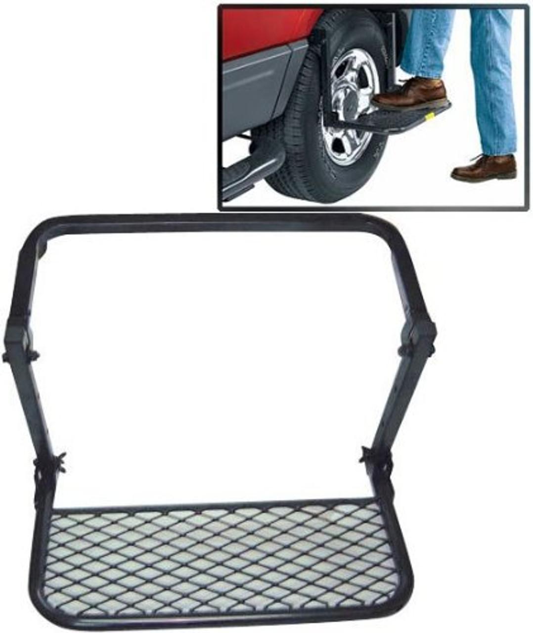 Steel adjustable tire step up