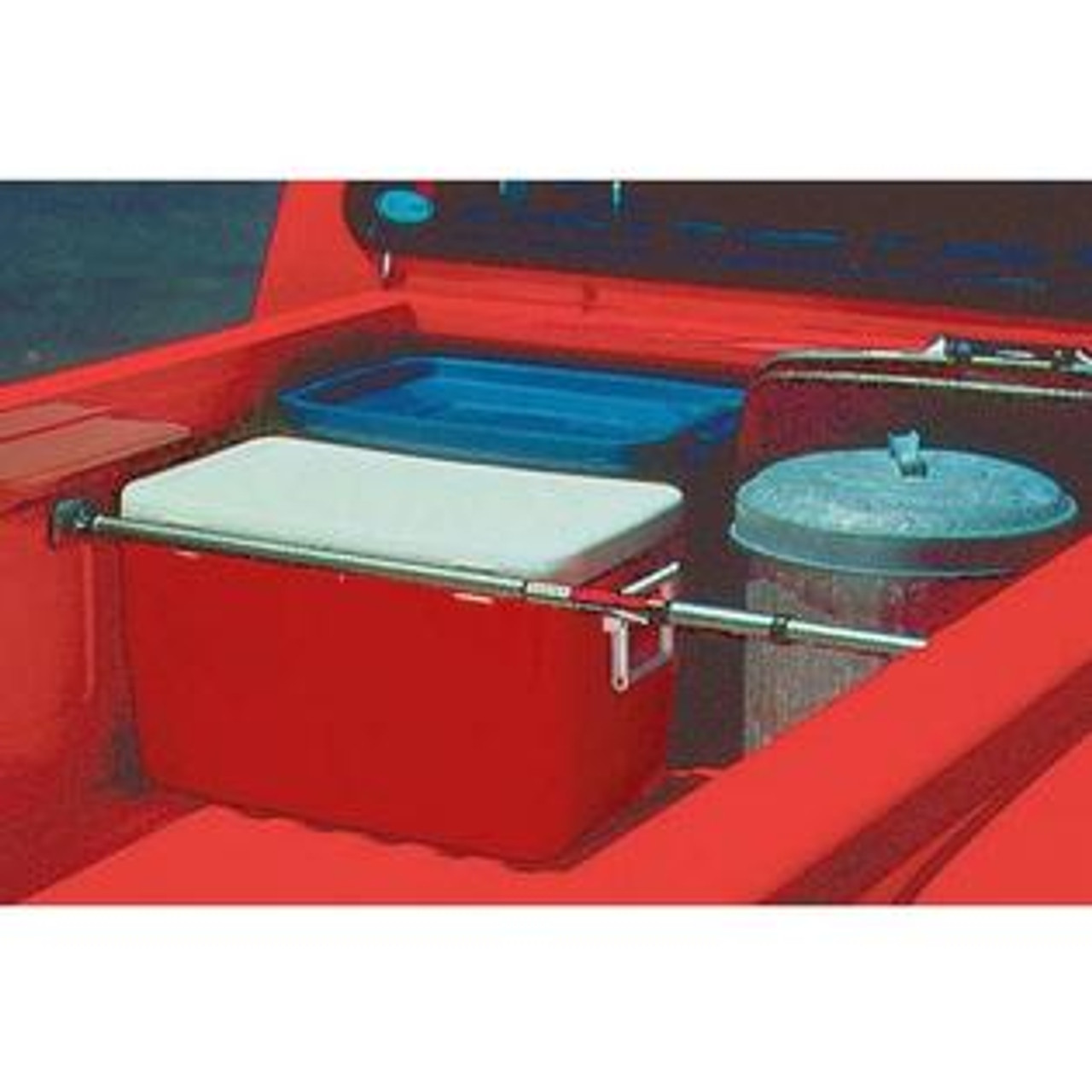 Cargo bar for organizing truck beds