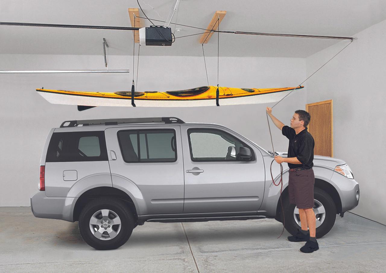 Heavy Duty Canoe Hoist 200lbs Capacity Storeyourboard Com