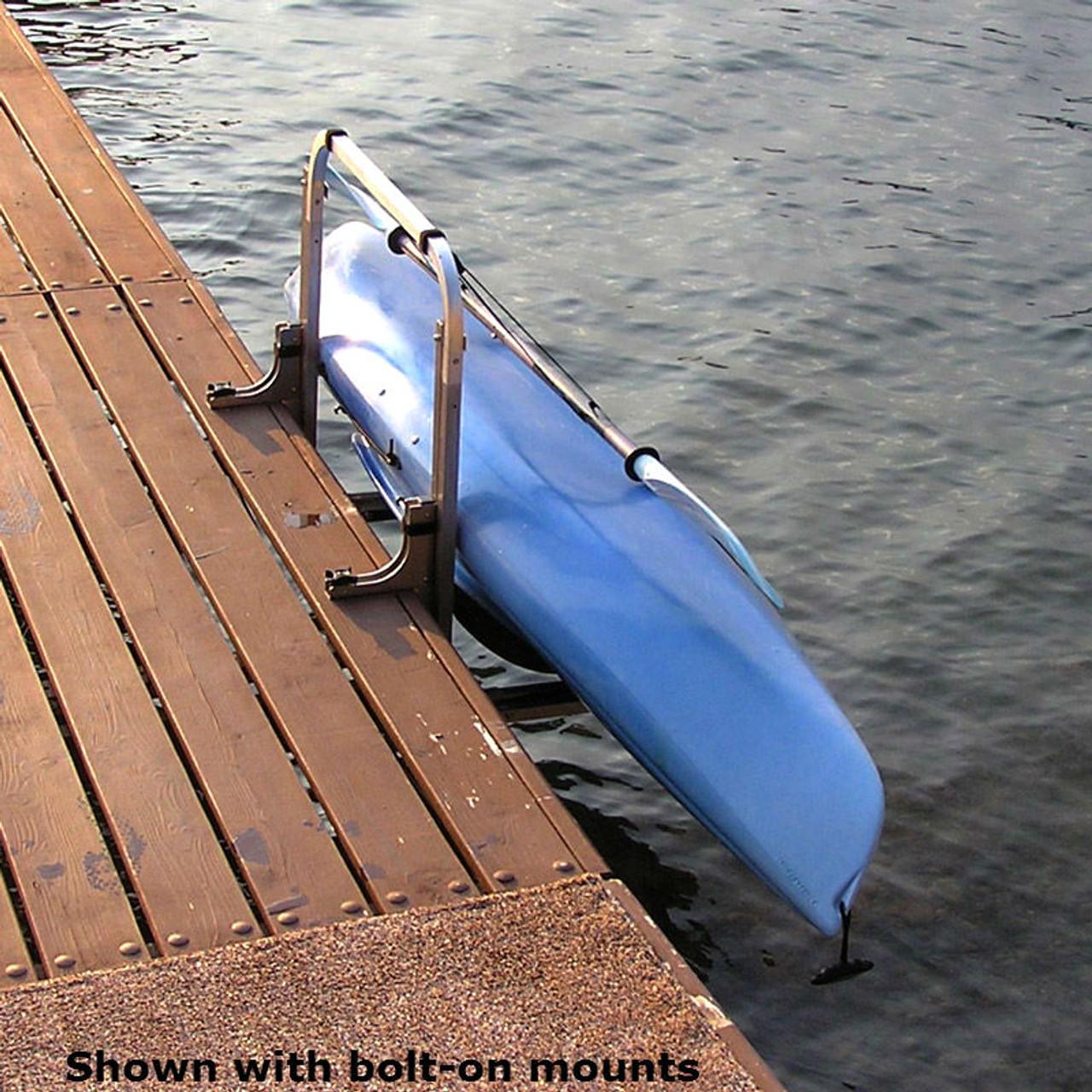 Aluminum Boat Racks : Kayak dock rack aluminum waterside storage