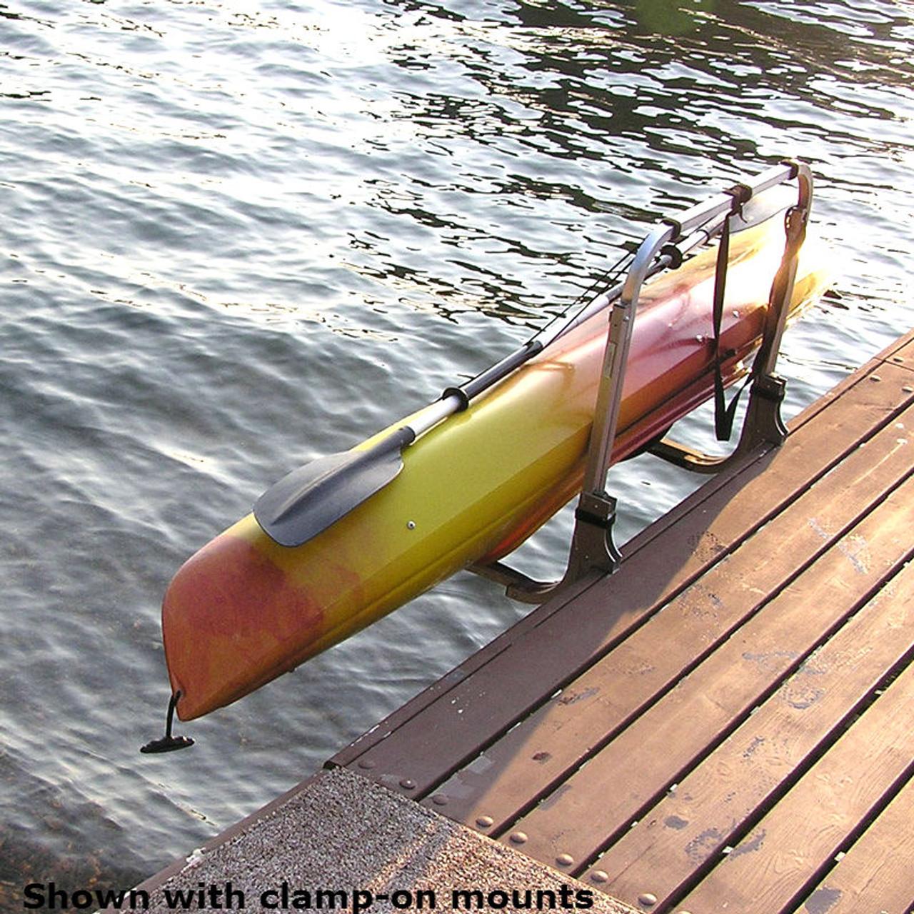 stainless steel kayak dock rack