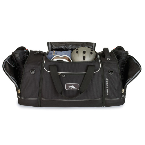 4-in-1 cargo duffel for snowboard gear