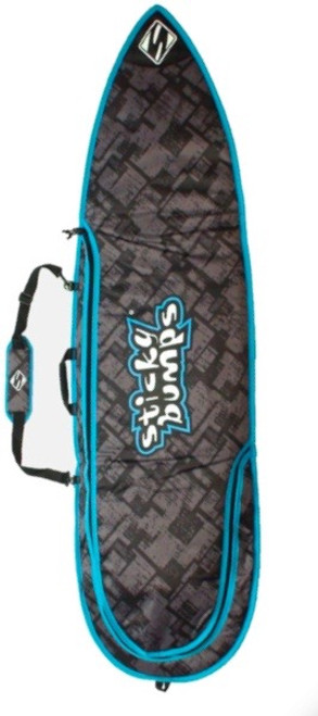 shortboard surf bag black
