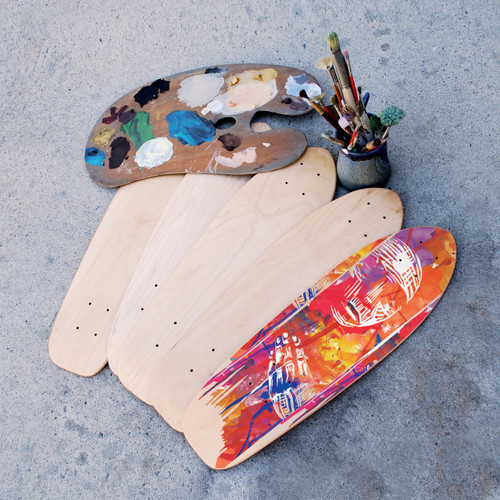 DIY skateboard art bundle