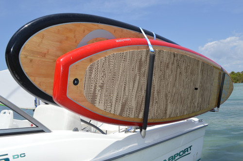SUP rack for fishing boats