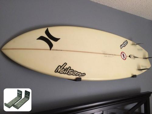 hidden surfboard rack
