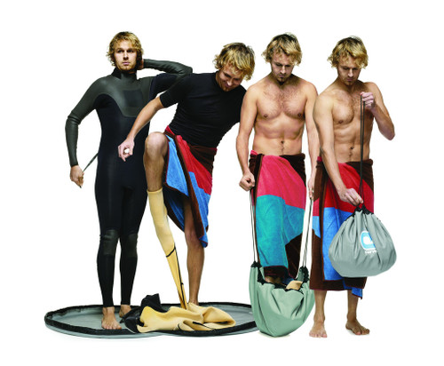 wetsuit change bag and mat