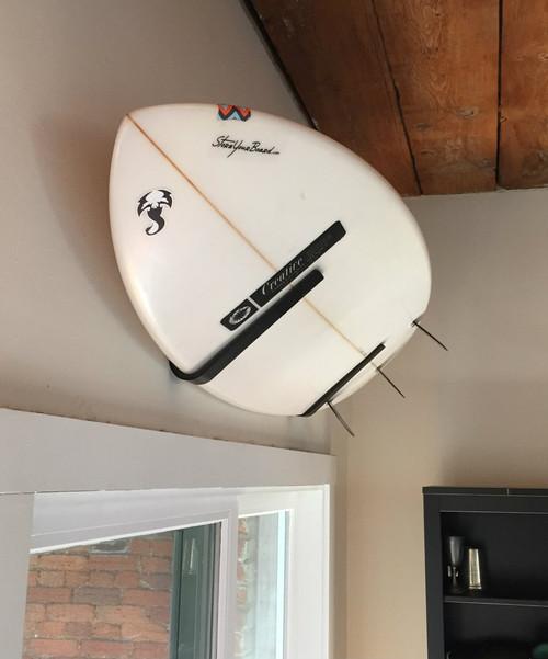 indoor surfboard wall rack