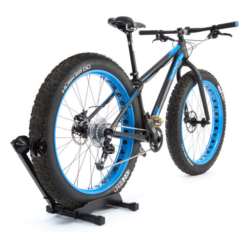 fat bike tire freestanding storage rack