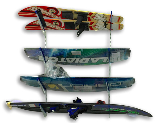 water ski home wall rack