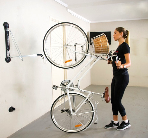fender bike vertical wall rack