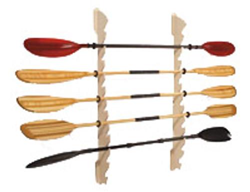 sup and kayak paddle wall rack