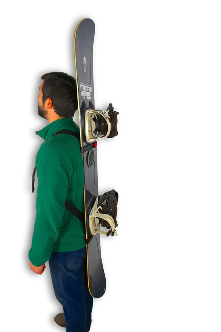 snowboard shoulder carrier