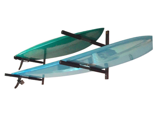 home storage rack for 2 surfboards