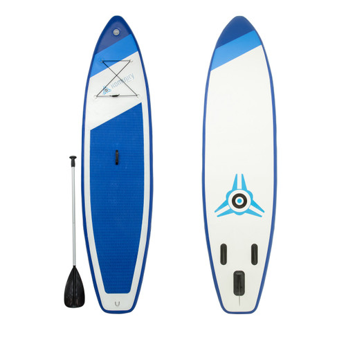 beginner inflatable standup paddleboard