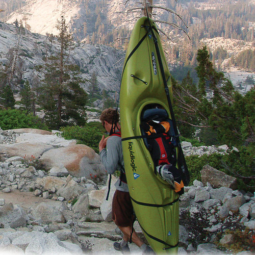 kayak backpack harness