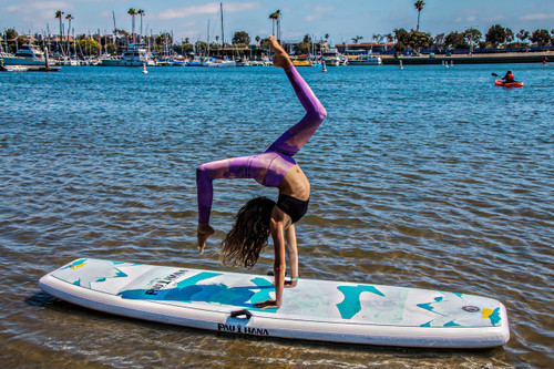 sup yoga inflatable paddle board