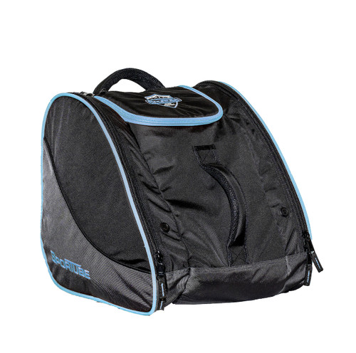 blue ski boot travel bag