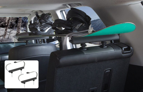 snowboard rack for car interiors
