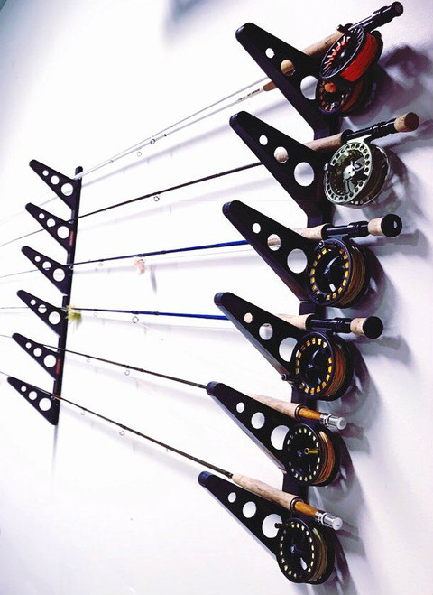 Fishing Rod Wall Rack | Trifecta Rack