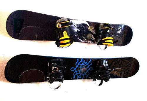 snowboard rack clear