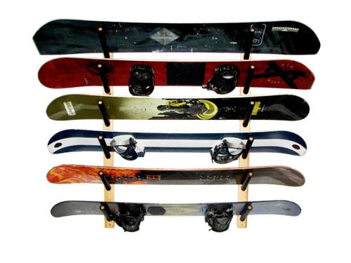 large snowboard rack