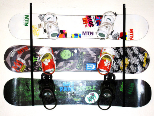 snowboard wall rack 2 or 3 snowboards jib crib