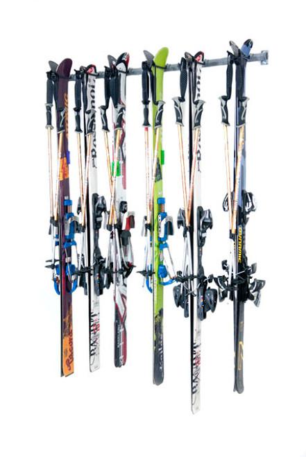 garage ski storage 6 pairs