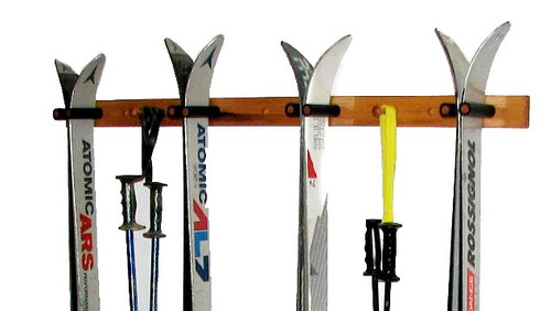 ski storage 4 skis and poles