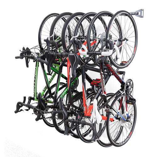 How To Hang Bike On Wall compact vertical bike rack | wall mount - storeyourboard