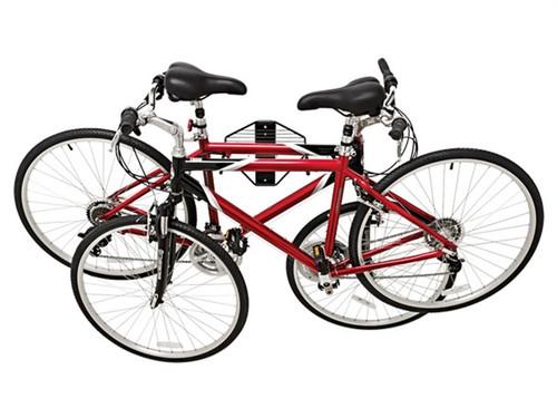 folding bike rack | double